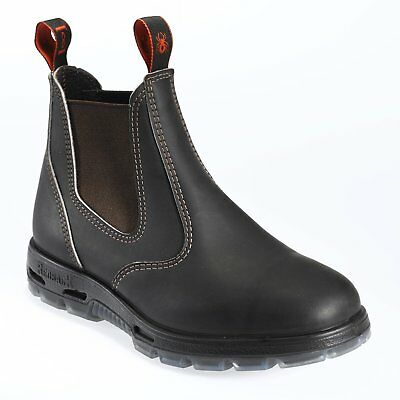 REDBACK UBOK stout brown non-safety soft toe dealer boot size 3-15