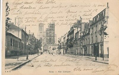 CPA - France - (51) Marne - Reims - Rue Libergie
