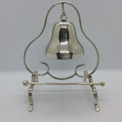 Vintage Silver Plated Dinner Bell