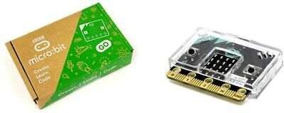 BBC micro:bit go with Clear Case access to all ports from SB Components