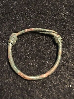 ancient roman rings, ANCIENT CELTIC BRONZE COILED RING, 4th-3rd C, BC