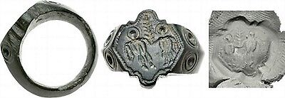 Byzantium ring.  6-7 centuries AD. 100% guarantee, Include in catalog