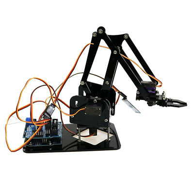 Bluetooth Control WiFi Control kit S4 4DOF Robot Mechanical Arm For Arduino