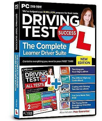 Driving Test Success The Complete Learner Driver Suite New 2018 Edition PC DVD