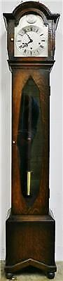 Antique English 8 Day Westminster Chime Musical Longcase Grandmother Clock