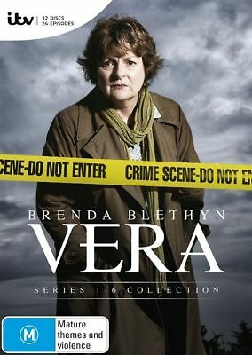 Vera Complete Series Season 1+2+3+4+5+6 (DVD -2-Disc Set) SEALED - FREE POST!