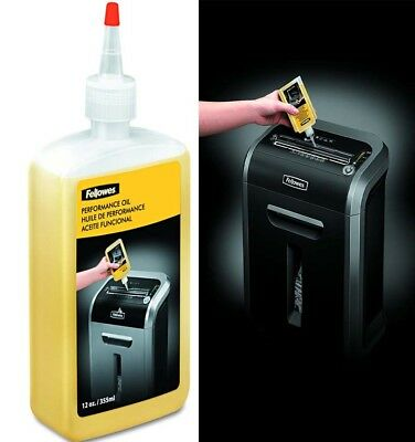 Fellowes 35250 Oil Shredder Bottle with Extended Nozzle, 355 ml *FREE DELIVERY*