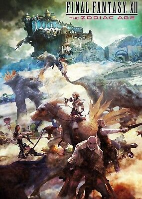 Final Fantasy Xii - The Zodiac Age Poster Print - Wall Art - Buy 2 Get 1 Free