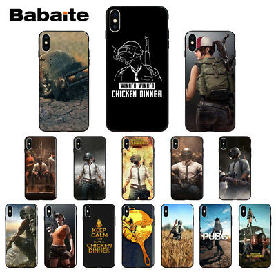 Playerunknown's Battlegrounds PUBG Soft TPU Silicone Phone Case Cover for iPhone