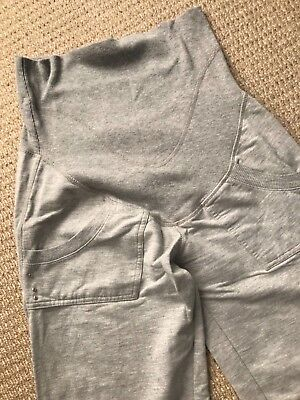 River Island grey maternity jogger/tracksuit bottom size 6 but suited size 10/12