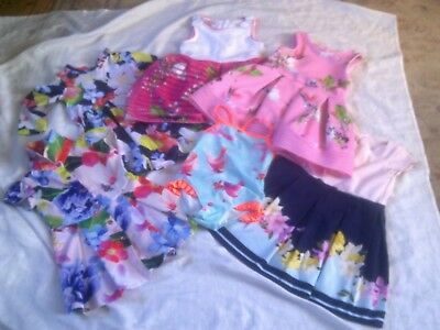 Large Bundle Of Girl's Ted Baker Clothes Age 2 -3 : Dresses & Swimming Costume