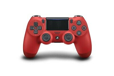 CONTROLLER WIRELESS V2 DUALSHOCK 4 ROSSO (Magma Red)  PER SONY PS4
