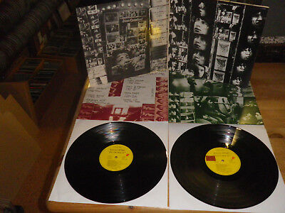 """ROLLING STONES: """"Exile On Main St"""", COC 69100, ORG GER, 1972, 12""""/ 2 LP, NICE!"""