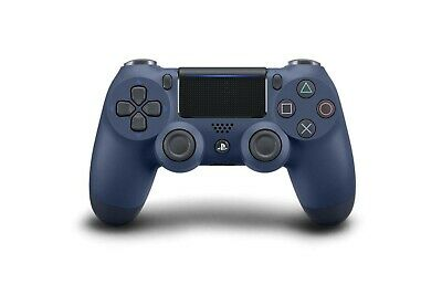 Controller Wireless V2 Dualshock 4 Midnight Blue, Blu Notte Per Sony Ps4