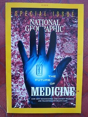 National Geographic Magazine JANUARY 2019 - SPECIAL - THE FUTURE OF MEDICINE