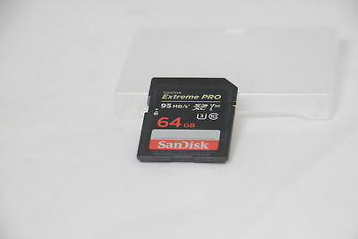 SanDisk SanDisk Extreme Pro 64 GB SDXC Memory Card up to 95 MB/s, Class 10, U3,