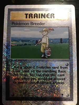 Pokemon Breeder  102/110 - Reverse Holo – Legendary collection (eng) - (pk1056)