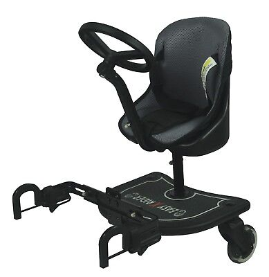 Easy X Rider Sit N Ride Universal Buggy Stroller Ride on Board & Seat Liner