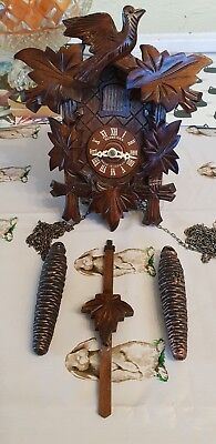 Schneider antique black forest cuckoo clock