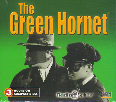 New The Green Hornet CDs 6 Episodes 1946 Radio Show 3 Hours New Sealed