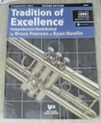 Tradition of Excellence Comprensive Band Method Bb Trumpet Bk2 2nd Edition IPS