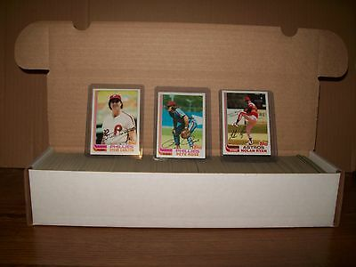 1982 Topps Baseball Set Nm/mint Minus Ripken Aaaaa