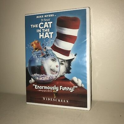 Dr. Seuss The Cat in the Hat starring Mike Myers (DVD, 2004, Widescreen, NEW)