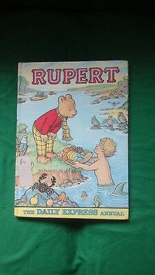 VINTAGE RUPERT BEAR - THE DAILY EXPRESS ANNUAL 1975 Collectors Children Book