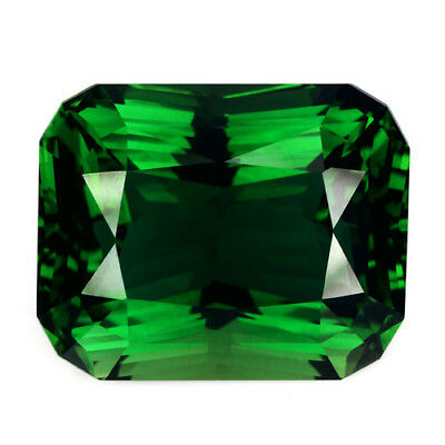 14.33Cts Hi- Look Natural Classic Green  Quartz Radiant Cut 16.3x13mm Ref VDO