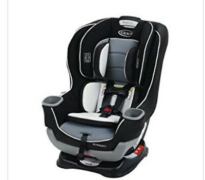 """Graco Extend2Fit Convertible Car Seat, Gotham """"NEW"""""""