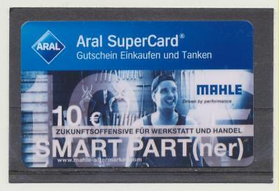 Aral SuperCard - Mahle Smart Part(ner) - 10 € -  gebraucht  ( 123 )