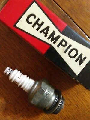 2 Vintage Champion Spark Plugs, C-16C Used, & 2 Boxes That Are Different, Toledo