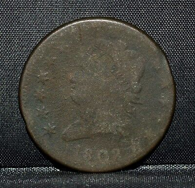 1808 Classic Head Large Cent ✪ Vg Very Good ✪ 1C L@@k Now Scarce Coin ◢Trusted◣
