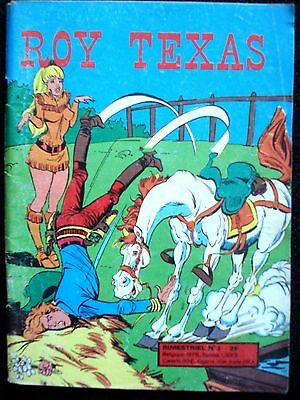 Roy Texas N°3 Editions De L'occident De 1975