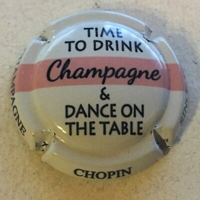 Capsule de champagne CHOPIN Julien (52. Time to Drink & Dance on the Table)