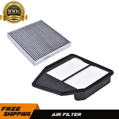Engine & Cabin Air Filter For 08-12 Honda Accord  4CYL Crosstour 2.4L AF6309