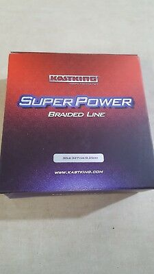 KastKing SuperPower Braided Fishing Line - KKB-GY-300-30-0 - 0.25mm