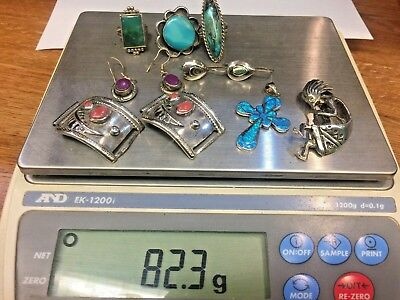 Sterling Silver Southwestern/Native  Sellable or Wearable Lot NO RESERVE!!