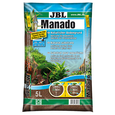 Substrat Sol Naturel Manado pour Aquarium - JBL - 5L