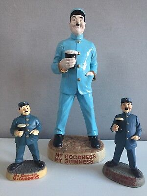 Set of 3 Guinness Zoo Keepers