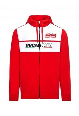 Ducati Rouge Blanc Taille Sweat Capuche Corse S Polo rtQdxhBsC