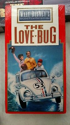 The Love Bug 1968 Walt Disney's Studio Film Collection VHS, New, Mint, Free Ship