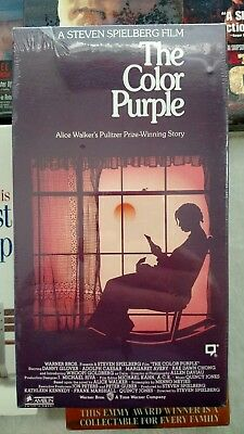 The Color Purple (VHS, 1991) New, Sealed, Mint, Free Shipping