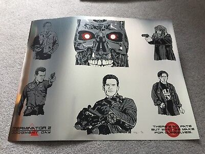Terminator 2: Judgment Day (New Flesh) SOLD OUT Foil Print #4 of only 4!! Mondo