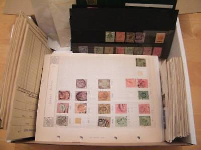 GB Monster Box. Huge Amount of pages & Postage. Approval books etc. Ref-588