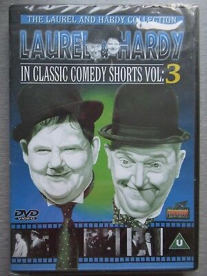 NEW Laurel & Hardy DVD Bundle Classic Comedy Shorts10 films + special features