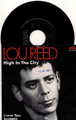 Lou Reed - High In The City / I Love You, Suzanne - 7'' Vinyl