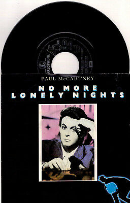 Paul McCartney - No More Lonely Nights / (Playout Version) - 7'' Vinyl