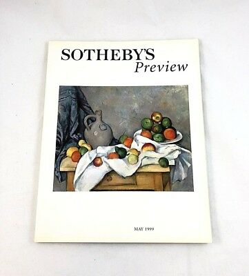 Sotheby's Preview Fine Arts Catalog - May 1999
