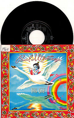 Paul McCartney - This One / The First Stone - 7'' Vinyl